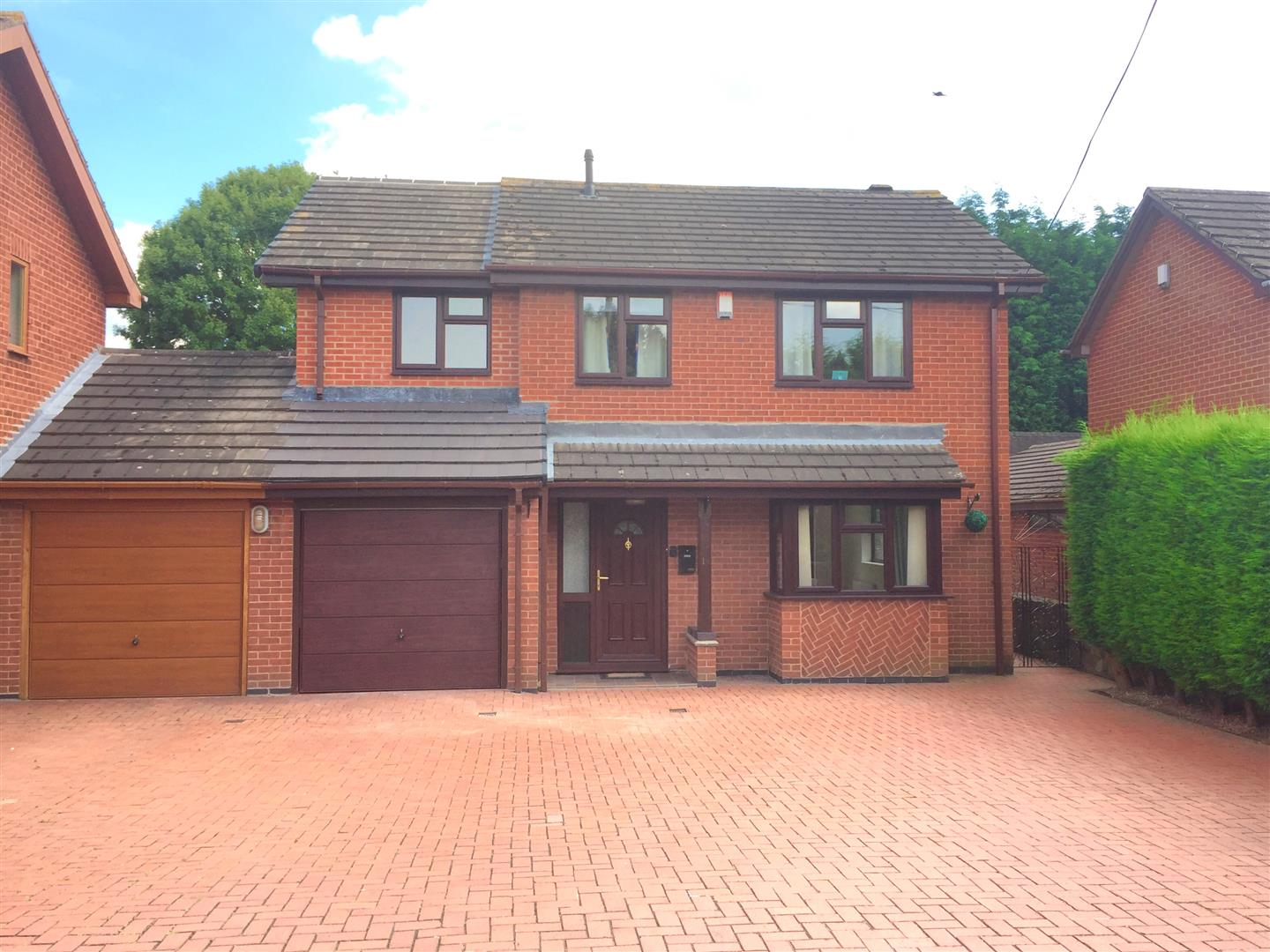 4 Bedrooms Detached House for sale in Dalston Road, Newhall, Swadlincote